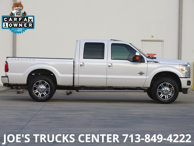 2015 Ford Super Duty F-250 SRW Platinum 4x4 in Houston, Texas