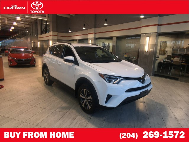 Certified Pre-Owned 2018 Toyota RAV4   Local Trade   One Owner   LE AWD