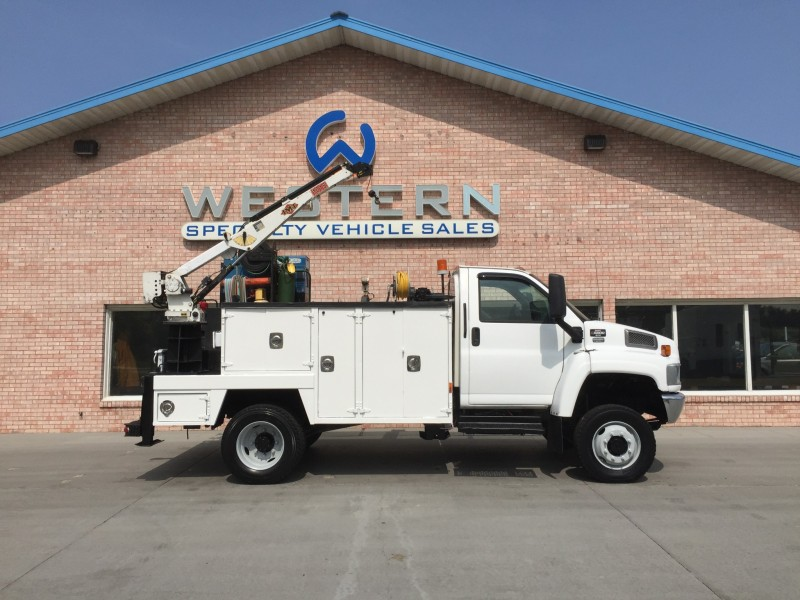 2007 GMC C5500 4x4 Mechanics Truck
