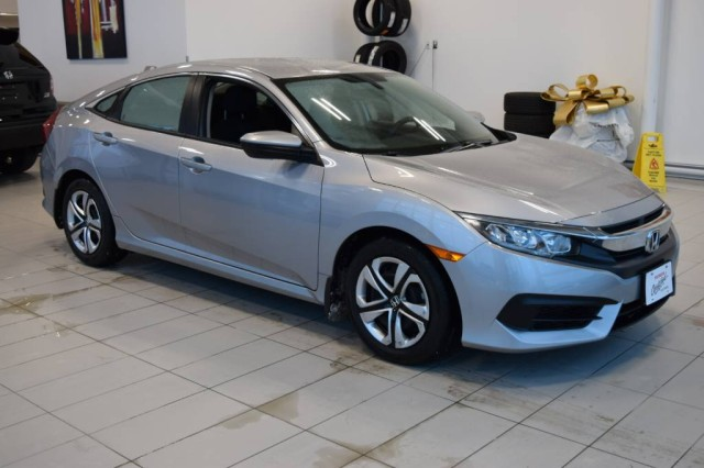 Certified Pre-Owned 2017 Honda Civic Sedan LX / Certified / No payments for 90 days / 7 year warranty