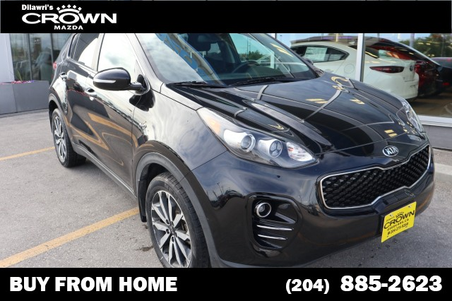 Pre-Owned 2017 Kia Sportage EX AWD **Accident Free/Local**