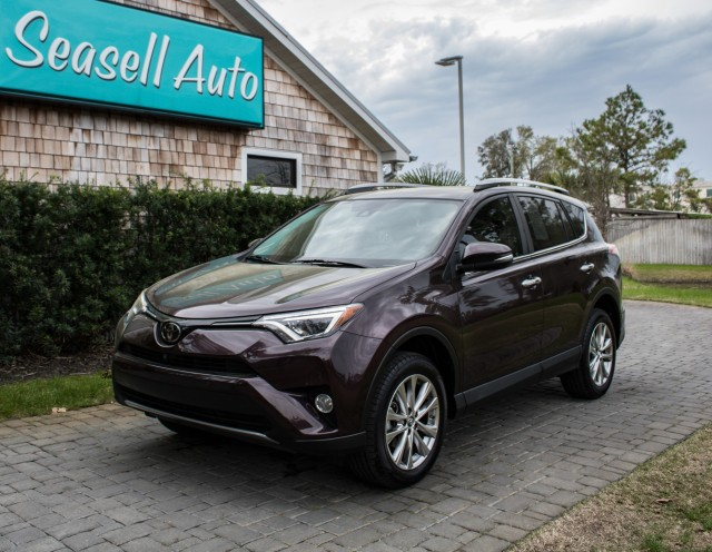2018 Toyota RAV4 Limited in Wilmington, North Carolina