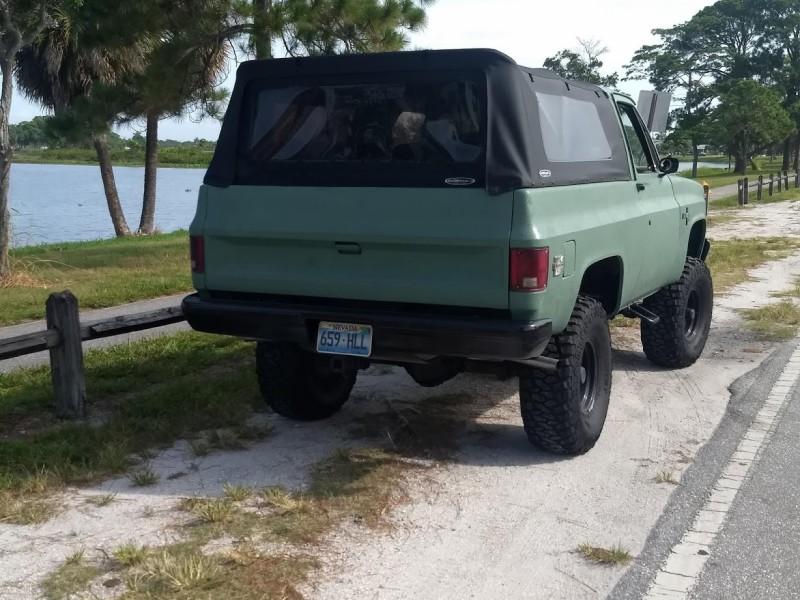 1981 Chevrolet Blazer  in West Palm Beach, Florida