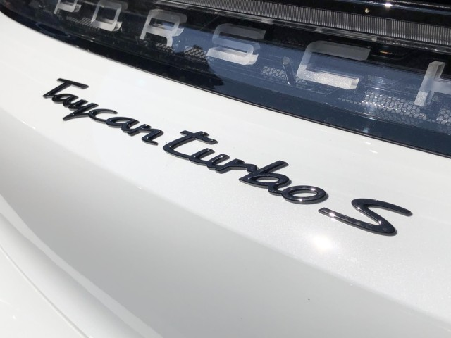 New 2020 Porsche Taycan Turbo S