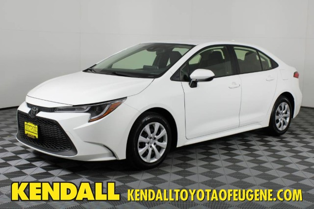 Certified Pre-Owned 2020 Toyota Corolla LE Front Wheel Drive Sedan