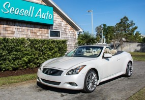 2011 INFINITI G37 Convertible AUTOMATIC SPORT in Wilmington, North Carolina