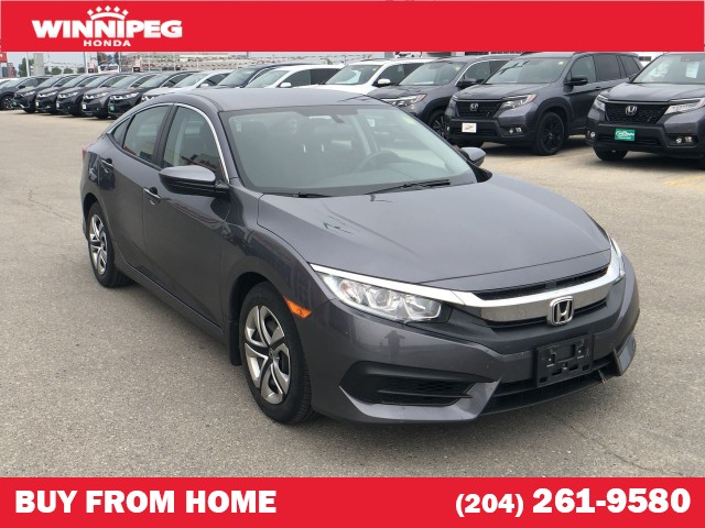 Certified Pre-Owned 2018 Honda Civic Sedan LX Manual / Certified / Apple car play / 7 year warranty