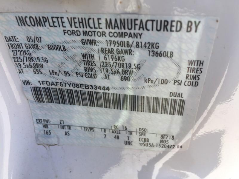 2008 Ford F550 Mechanics Truck