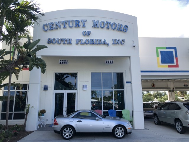 1998 Mercedes-Benz SLK-Class 1 OWNER FL LOW MILES 19,220 in pompano beach, Florida