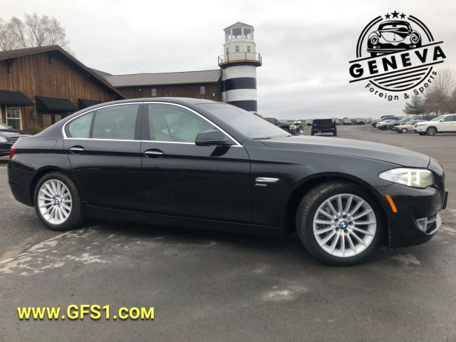 Used 2012 BMW 5 Series 535i xDrive Sedan for sale in Geneva NY