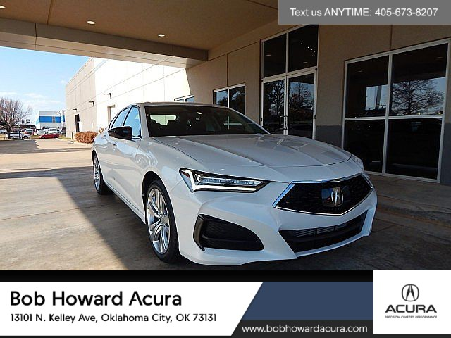 New 2021 Acura TLX SH-AWD with Technology Package