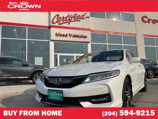 Pre-Owned 2016 Honda Accord Coupe V6 Touring | 2 Way LCD Remote Starter