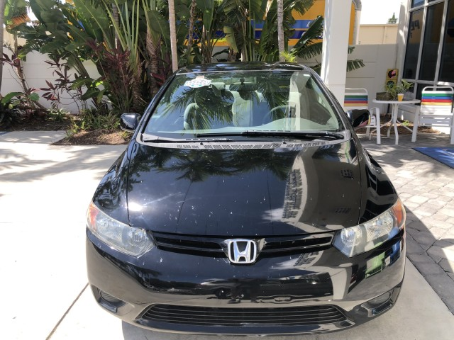 2008 Honda Civic Cpe WARRANTY LX 1 OWNER in pompano beach, Florida