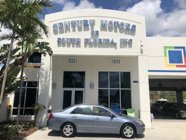 2007 Honda Accord Sdn EX 1 OWNER LOW MILES in pompano beach, Florida