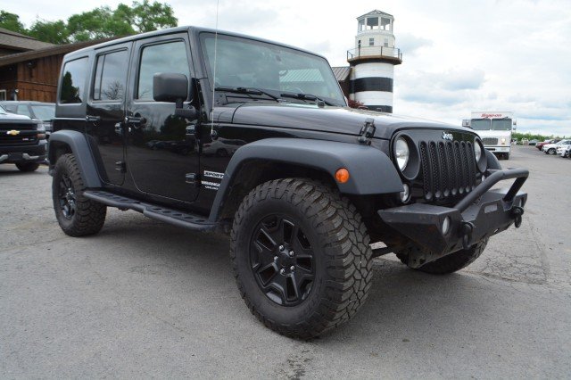 Used 2014 Jeep Wrangler Unlimited Willys Wheeler SUV for sale in Geneva NY