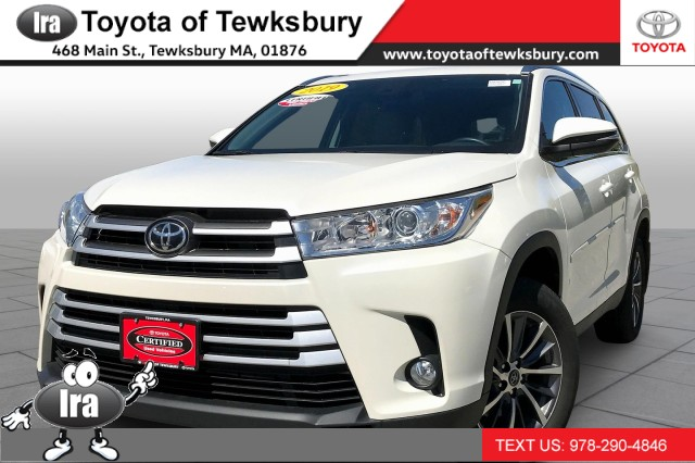 Certified Pre-Owned 2019 Toyota Highlander XLE**TOYOTA CERTIFIED**