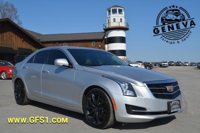 Used 2017 Cadillac ATS Sedan Luxury RWD