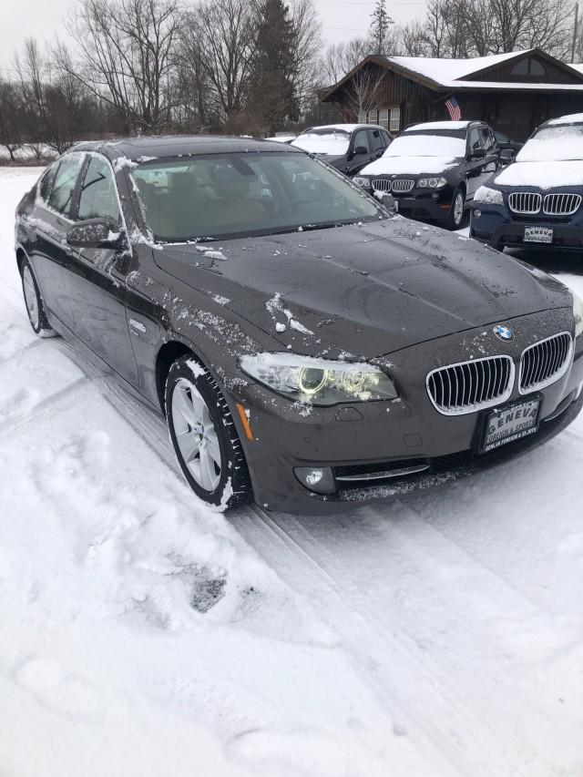 Used 2012 BMW 5 Series 528i xDrive Sedan for sale in Geneva NY