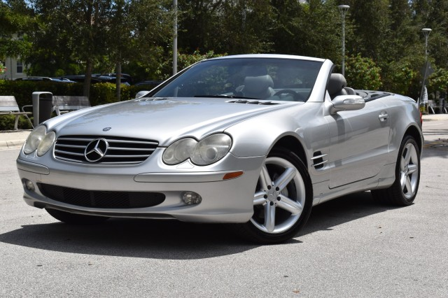 2004 Mercedes-Benz SL500  in West Palm Beach, Florida