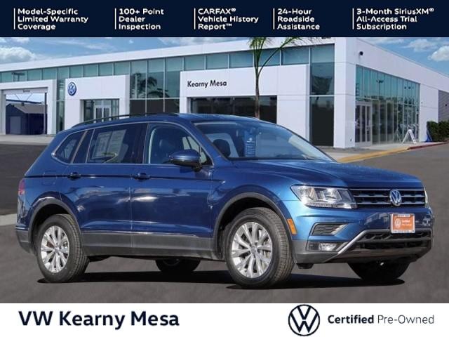 Certified Pre-Owned 2018 Volkswagen Tiguan SE