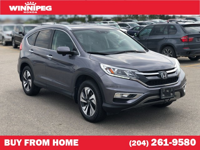 Certified Pre-Owned 2016 Honda CR-V Touring / Certified / Navigation / Heated seats