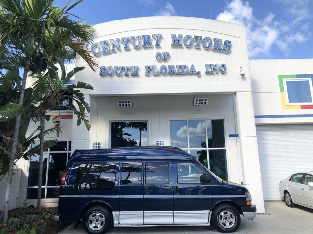 2003 Chevrolet Express  High Top Conv YF7 Upfitter Hightop Conversion Van Handicap Wheelchair Lift in pompano beach, Florida