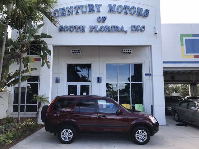 2004 Honda CR-V EX 1-Owner Clean CarFax No Accidents in pompano beach, Florida