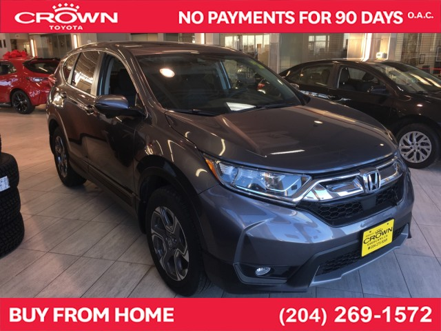 Pre-Owned 2018 Honda CR-V | Local Trade | One Owner | EX | AWD