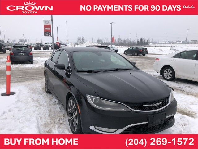 Pre-Owned 2015 Chrysler 200 | Local Trade | One Owner | 200C | FWD