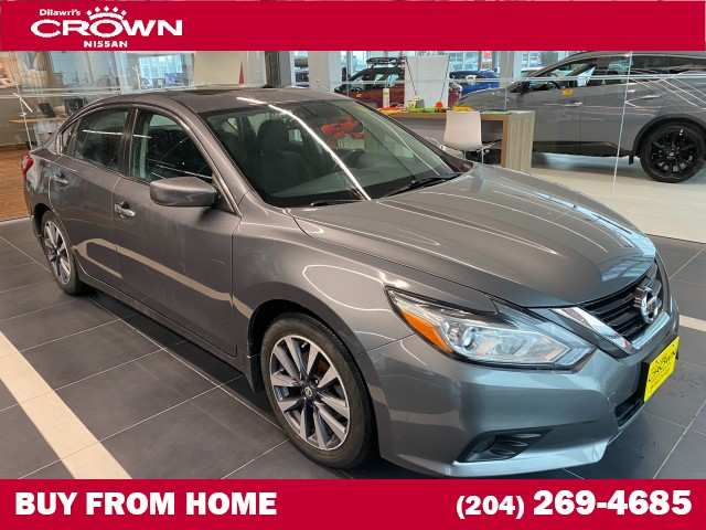 Pre-Owned 2017 Nissan Altima 2.5 SV **Heated Steering / Remote Starter / Back-up Camera**