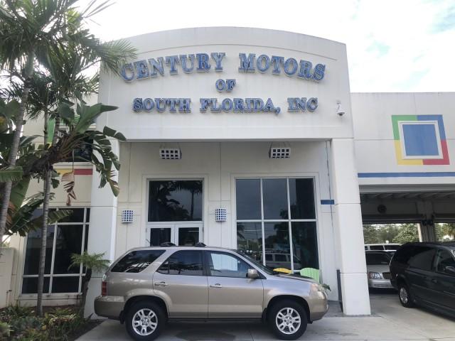 2004 Acura MDX Touring Pkg w/Navigation AWD BOSE Navigation Sunroof in pompano beach, Florida