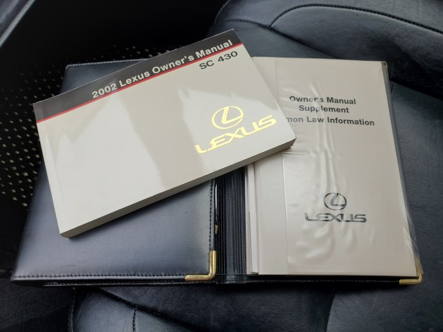 Pre-Owned 2002 Lexus SC 430