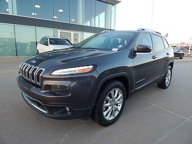 2015 Jeep Cherokee Limited ** LOADED, VENTILATED SEATS, ADAPTIVE CRUISE**