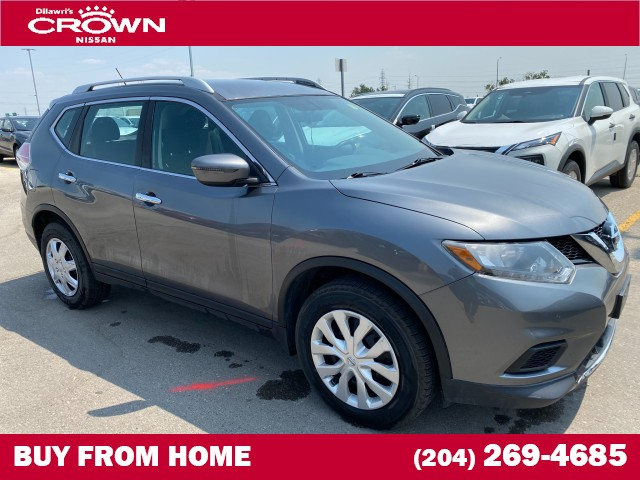 Pre-Owned 2016 Nissan Rogue AWD 4dr S **Remote Start/Bluetooth/Crown Original**
