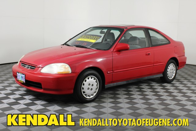 Pre-Owned 1998 Honda Civic EX Front Wheel Drive Coupe