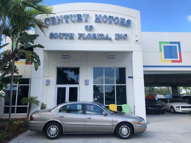 2003 Buick LeSabre Limited Heated Leather Seats CD 1 Owner Clean CarFax in pompano beach, Florida
