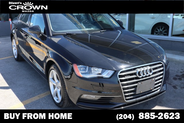 Pre-Owned 2016 Audi A3 quattro 2.0T Komfort **ONE OWNER/LOCAL**
