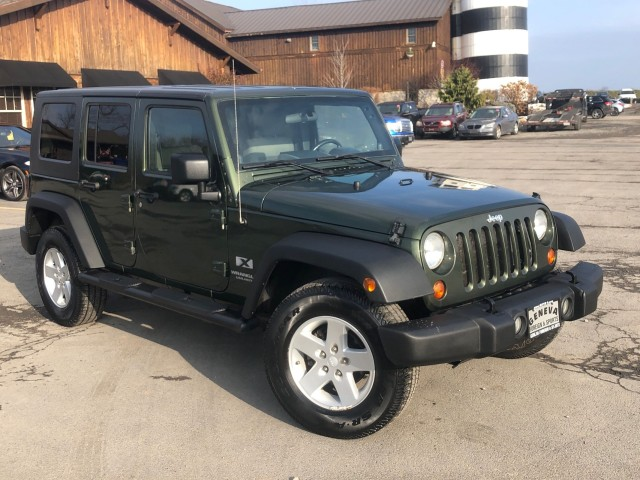 Used 2008 Jeep Wrangler Unlimited X SUV for sale in Geneva NY