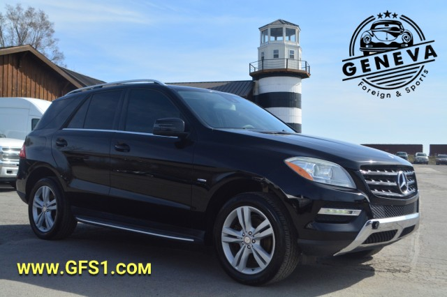 Used 2012 Mercedes-Benz M-Class ML 350 BlueTEC SUV for sale in Geneva NY