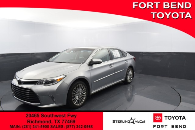 Certified Pre-Owned 2017 Toyota Avalon Limited***CPO***NAV***MOONROOF***