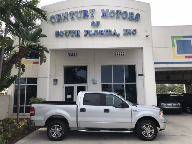 2006 Ford F-150 XLT 4x4 Tow Package Bedliner Clean CarFax in pompano beach, Florida