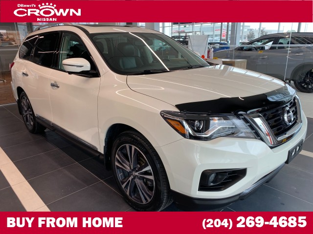 Pre-Owned 2017 Nissan Pathfinder 4WD 4dr Platinum **Cooled Seats / Heated Steering / Blind Spot D