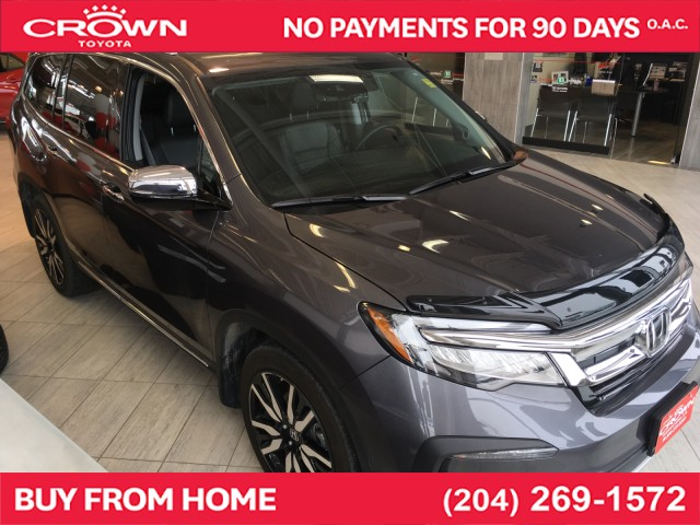 Pre-Owned 2019 Honda Pilot | Local Trade | One Owner | Touring | 8-Passenger | AWD