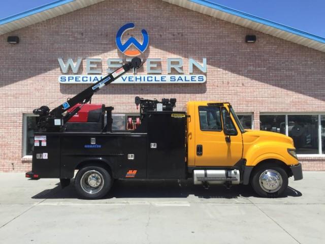 2016 International TerraStar Mechanics Truck
