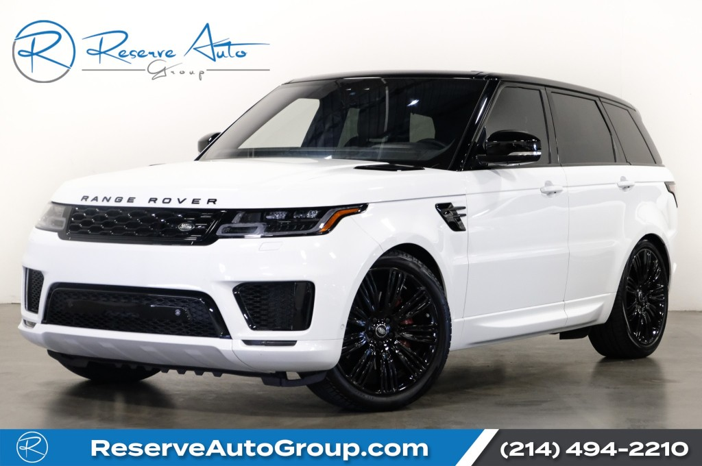 Pre-Owned 2020 Land Rover Range Rover Sport P525 HSE V8 Dynamic Drive Pro PKG Heat/Cool Front&Rear Seats 22'' Black Gloss Wheels Center Console Cooler