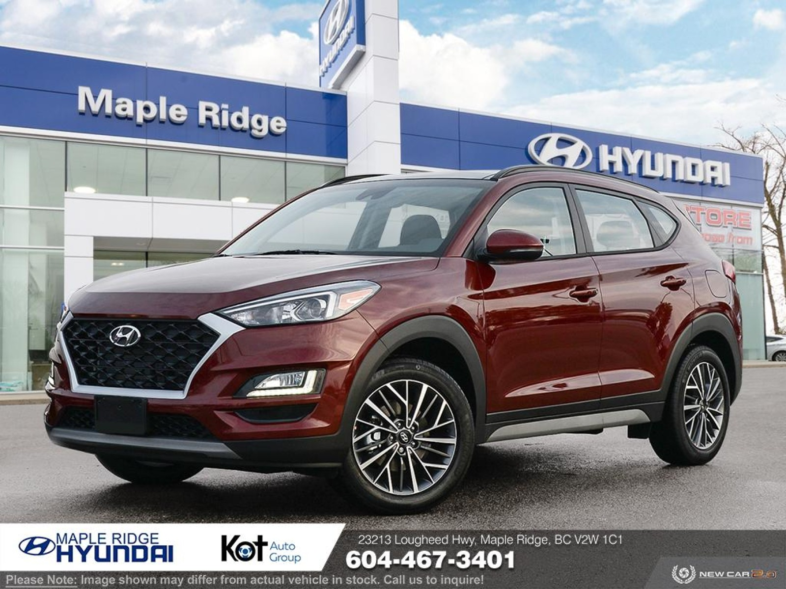 2021 Hyundai Tucson Preferred AWD w/Trend Package