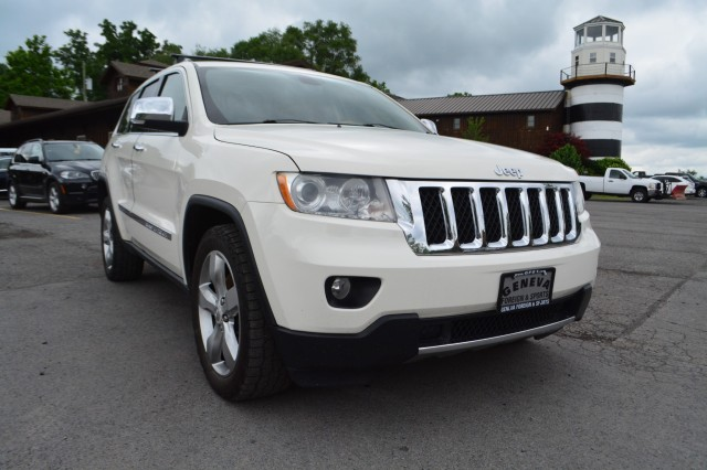 Used 2011 Jeep Grand Cherokee Overland SUV for sale in Geneva NY