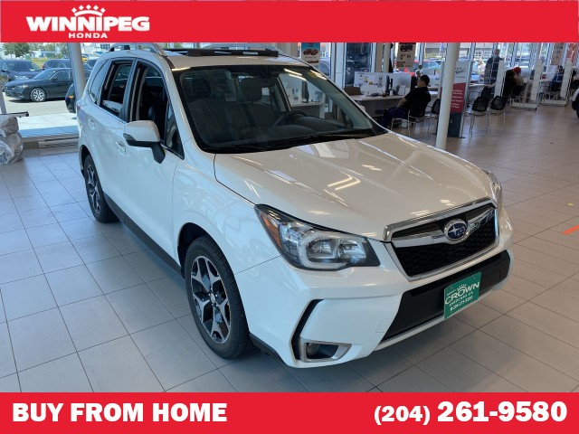 Pre-Owned 2016 Subaru Forester 2.0XT Touring / Panoramic roof / Heated seats / Leather