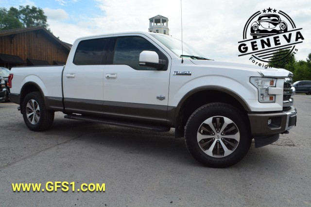 Used 2017 Ford F-150 King Ranch Pickup Truck for sale in Geneva NY