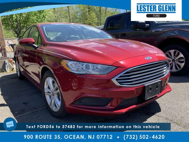 used 2018 Ford Fusion car, priced at $19,935